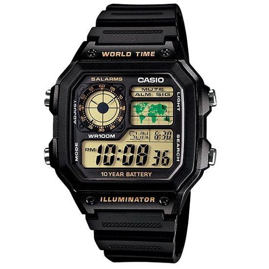 f8bee56af Relógio casio digital world time ae-1200wh-1bvdf - aconfianca