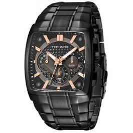 151390ea9668e Relógio TECHNOS cronógrafo performance Ts Carbon os20ii 1p, imagem 1 ...