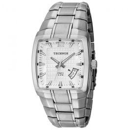 ccfd71895 Relógio TECHNOS masculino analógico 2315em/1k quadrado - aconfianca