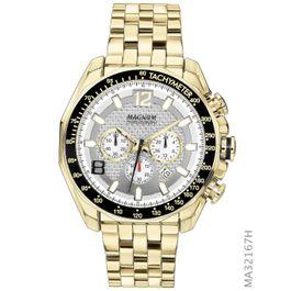 8855334cb13 Relógio MAGNUM cronógrafo dourado ma32167h - aconfianca