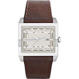 daf541e2f5f Relógios - Relógio de Pulso AX (Armani Exchange) Masculino Couro ...