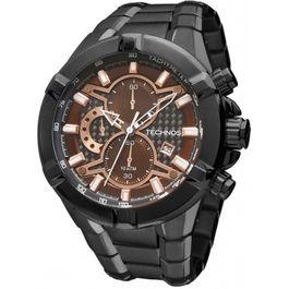 Relógio TECHNOS cronógrafo performance Ts Carbon os1aai 4p, imagem 1 ... bc4e4e317b