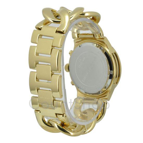 9a01736feef35 Relógio MICHAEL KORS feminino elos dourado OMK3131 Z - aconfianca
