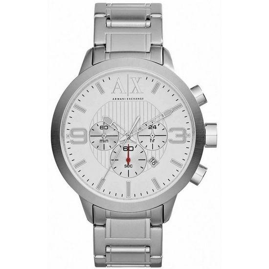 fd344516484 Relógio ARMANI EXCHANGE cronógrafo uax1278 z branco - aconfianca