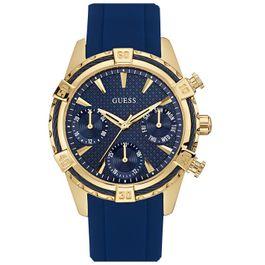 721c1a07268 Relógio GUESS feminino 92552lpgsdu2 w0562l2 dourado azul