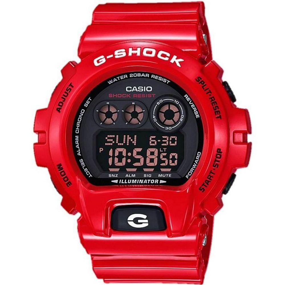 Relógio Casio G-Shock GA100B4ADRU Militar Vermelho