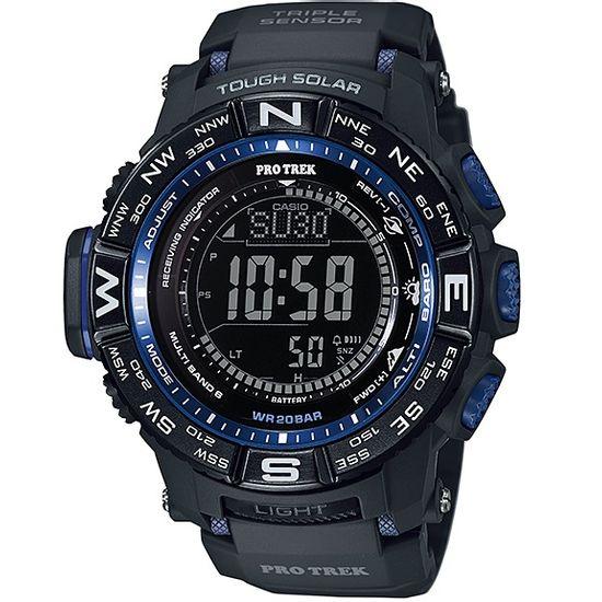 7f90678a305 Relógio casio pro trek triple sensor prw-3500y-1dr - aconfianca