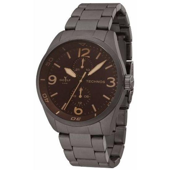Relógio technos multifunção classic golf 6p23al 1m - aconfianca d08abb4a67