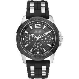 81d2d12214e Relógios - Relógio de Pulso Guess Masculino Casual Borracha – aconfianca