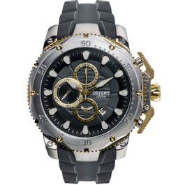 27e84ad1003 Relógio ORIENT masculino cronógrafo titânio mttpc001 p1px - aconfianca