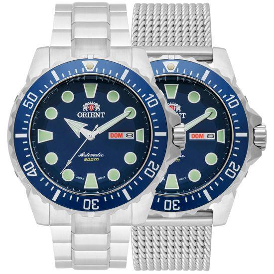 4d3362b59fc7b Relógio orient automático kit troca pulseira 469ss073 d1sx - aconfianca