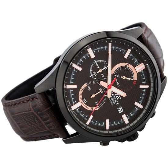 84b306ea20c5 Relógio CASIO Edifice masculino cronógrafo EFV-520BL-5AVUDF - aconfianca