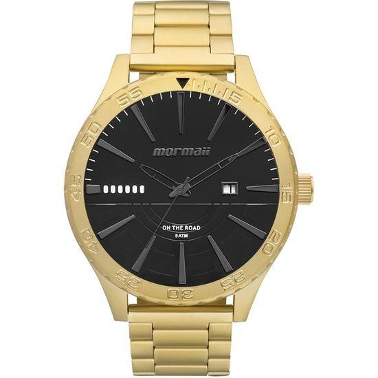 4752d074dc3 Relógio mormaii analógico mo2115ay 4p dourado fosco - aconfianca