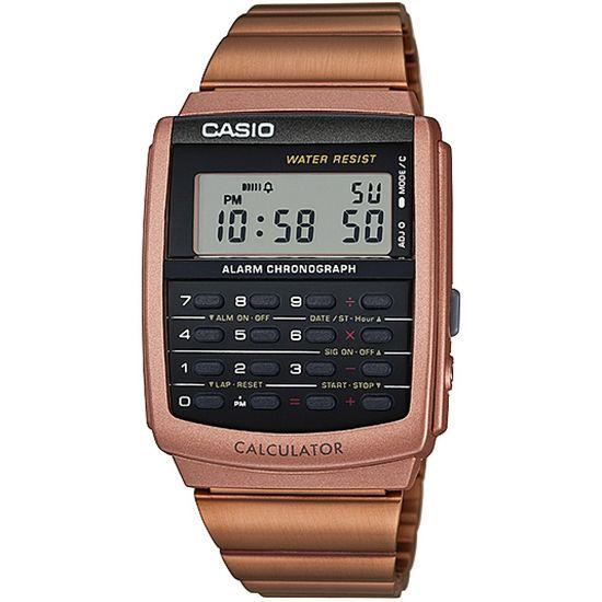 1e2b2744208 Relógio CASIO STANDARD digital calculadora ca-506c-5adf rose - aconfianca