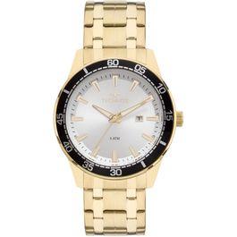 42a6851db8f Relógio MONDAINE feminino dourado chocolate 76597LPMVAE5 - aconfianca