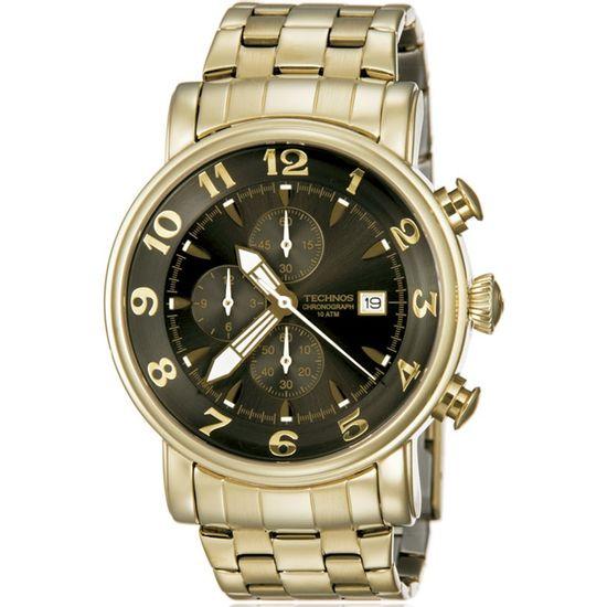 81315abc09669 Relógio technos cronógrafo classic grandtech os10cr 4d - aconfianca