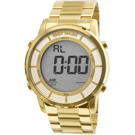 974b3cdd86d09 Relógio MORMAII feminino maui digital dourado mobj3463dc 4d - aconfianca