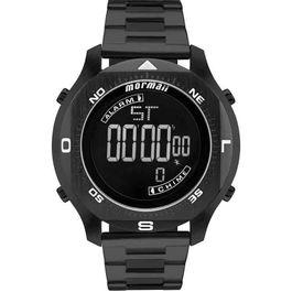 8a5d647b0108e Relógio MORMAII VINTAGE digital mojh02ab 4p dourado - aconfianca