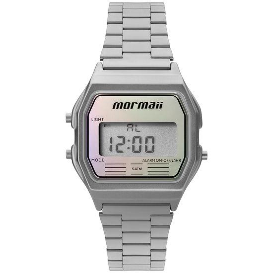 636c414f90d Relógio MORMAII unissex digital prata MOJH02AQ 3K - aconfianca