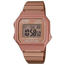 8d013238644 Relógio CASIO VINTAGE unissex digital rose B-650WC-5ADF - aconfianca
