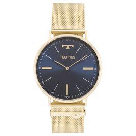 d2fce3edf40 Relógio TECHNOS esteira dourado 2025LTK 4A