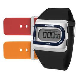 ce784685049b7 Relógio MORMAII KIT digital borracha unissex FZG T8E